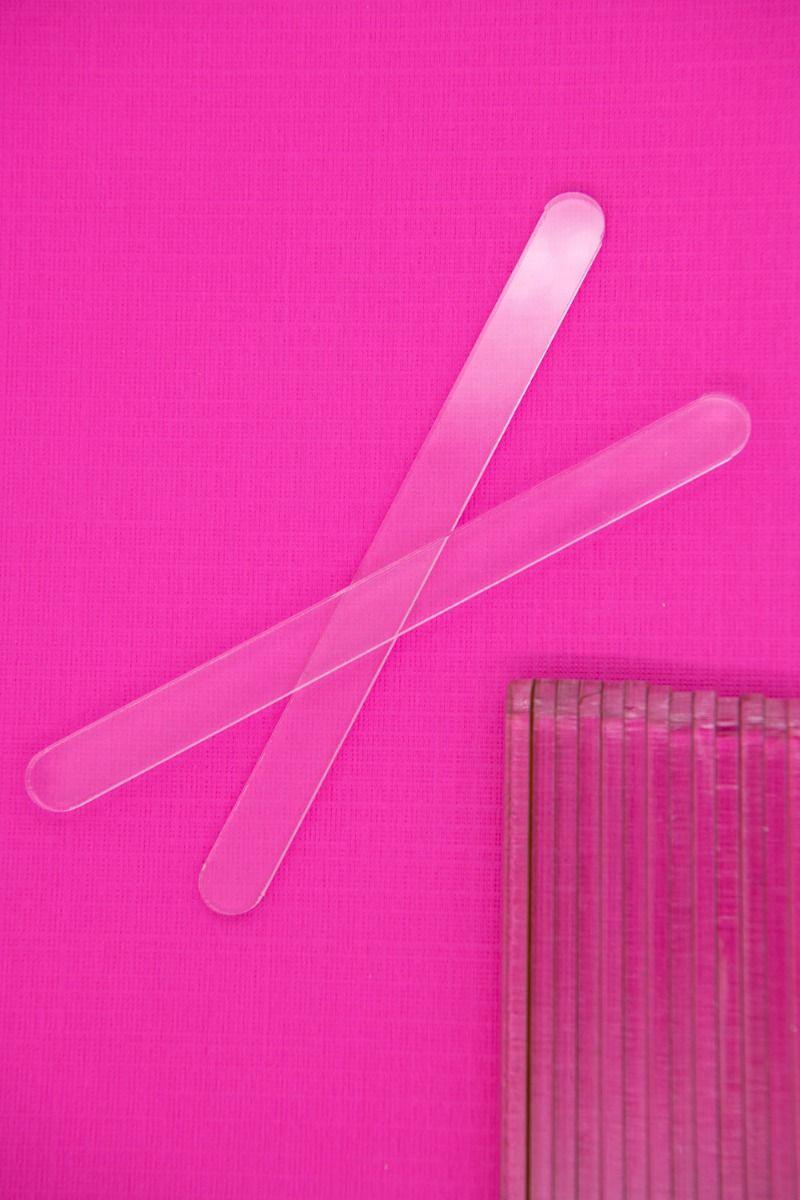 Clear Acrylic Popsicle Sticks for Cakesicles, Ice Cream, Glitter Pops, Cake Pops