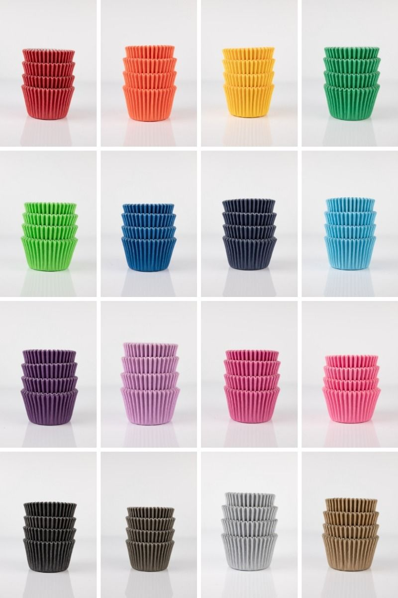 Bulk Mini Cupcake Liners - Bulk Midi Baking Cups - Wholesale Cupcake Cups