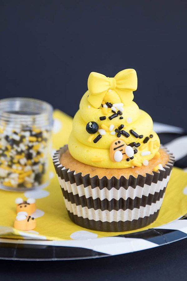Bumble Bee Party Sprinkles Mix | Bee Hive Sprinkle Medley