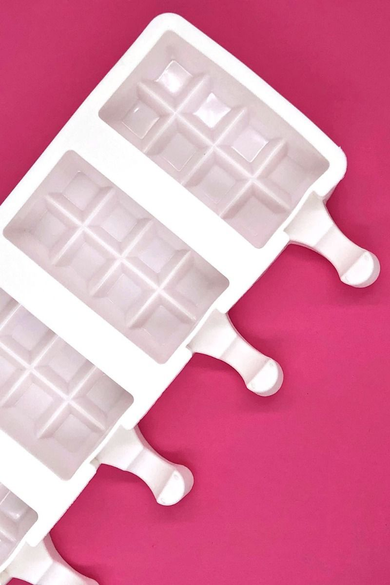 Chocolate Bar Cakesicle Mold | Chunky Candy Bar Cake Pop Popsicle Mold