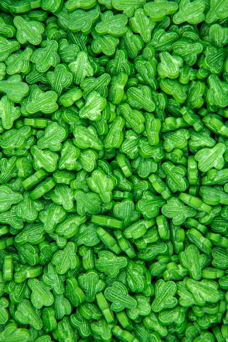 Cactus Sprinkles   Cactus Candy Sprinkles, Green Cactus Candies