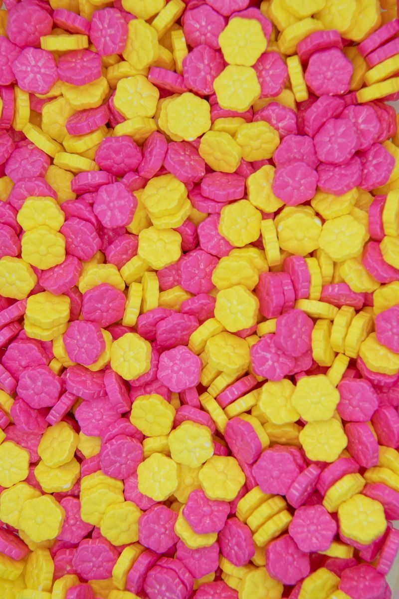 Shop Flower Candy Sprinkles | Candy Flowers Sugar Shapes