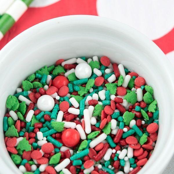 Christmas Sprinkles - Traditional Christmas Sprinkle Mix