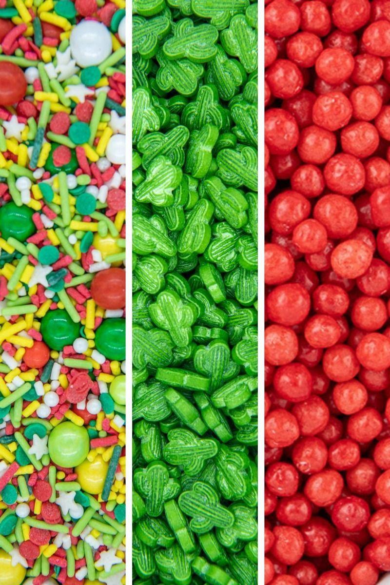 Cinco de Mayo Sprinkles Set - Taco, Fiesta Party Sprinkles Pack