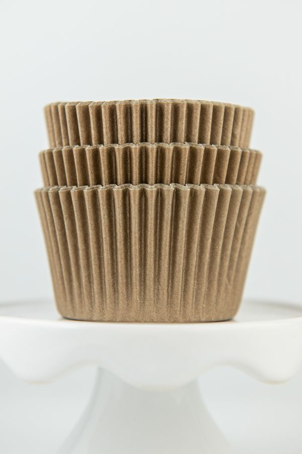 Solid Gold Cupcake Liners - Gold Baking Cups - Solid Color Cupcake Cups