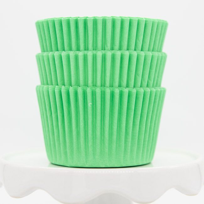 Light Green Cupcake Liners   Bulk Pastel Green Baking Cups, Cupcake Cups