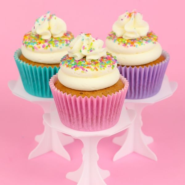 Sugar Crystals on Easter Cupcakes