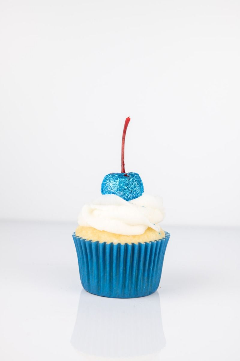 Blue Edible Glitter | Bluejay Luxe Edible Glitter for Drinks & Cake Decorating