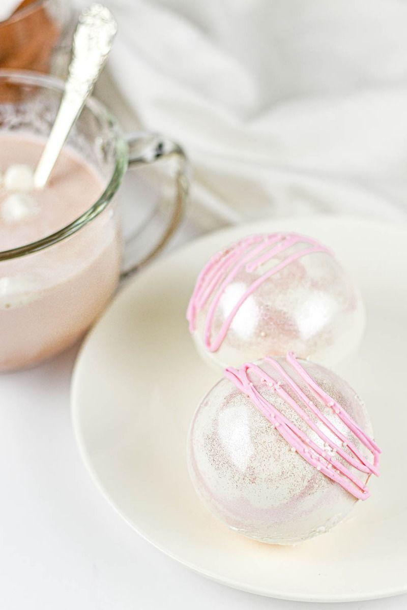 Light Pink Edible Glitter | Rosette Luxe Edible Glitter for Drinks & Cakes