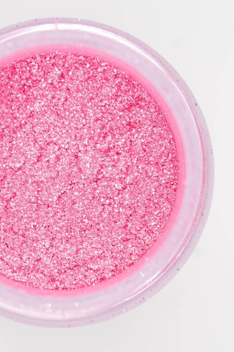 Pink Edible Glitter | Peony Luxe Edible Glitter for Drinks & Cakes