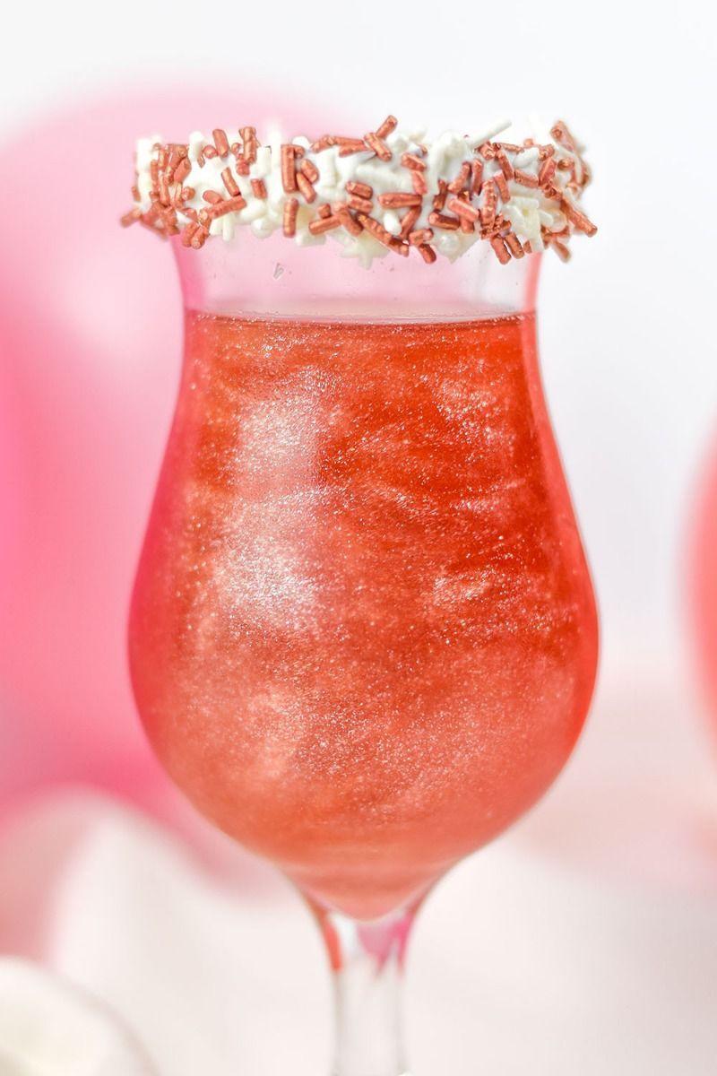 Rose Gold Edible Glitter | Socialite Luxe Edible Glitter for Drinks & Cakes