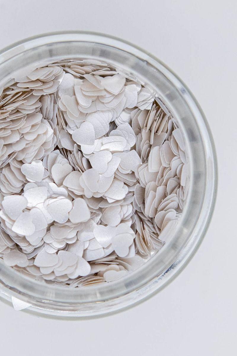 Silver Glitter Hearts| Shop Edible Silver Glitter Hearts Bulk | Sweets & Treats