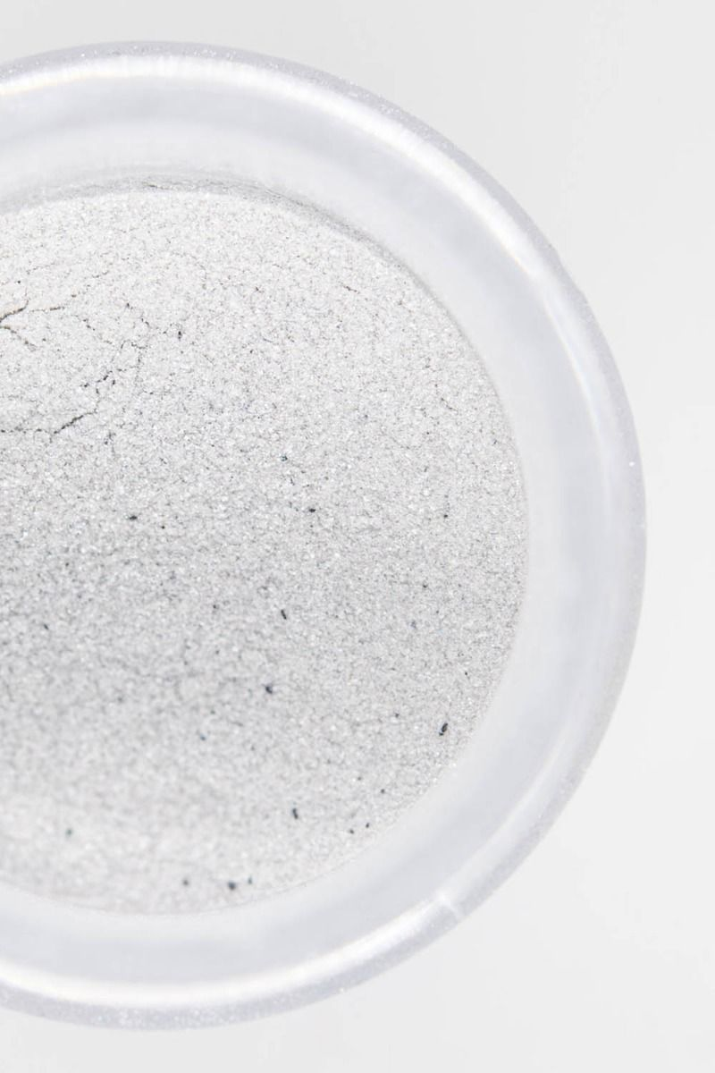 Silver Luster Dust | Mercury Luxe Edible Luster Dust for Cakes, Cookies