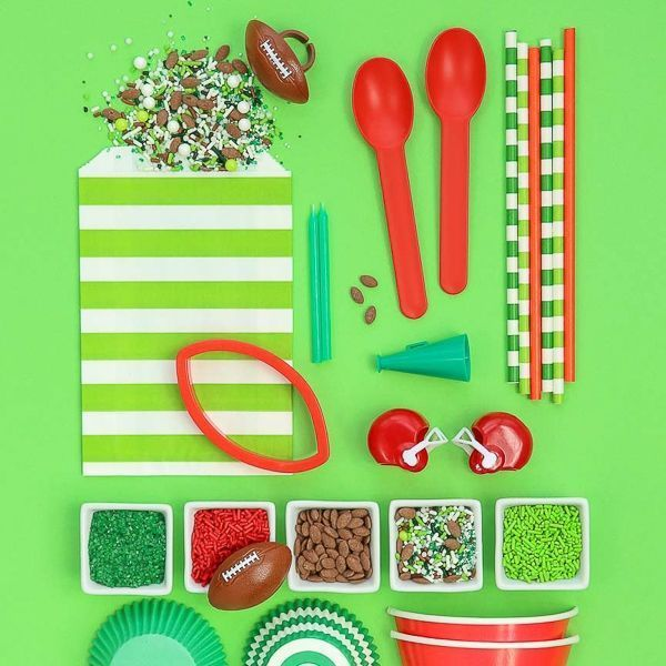 Football Party Ideas - Super Bowl Party Supplies - Football Sprinkles