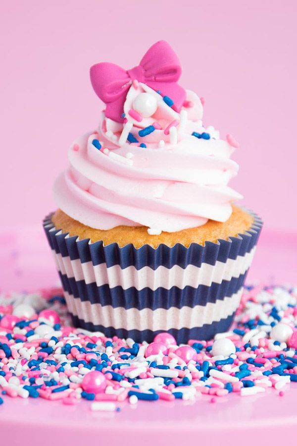 Pink Nautical Party Sprinkles Mix   Sail Away Sprinkle Medley