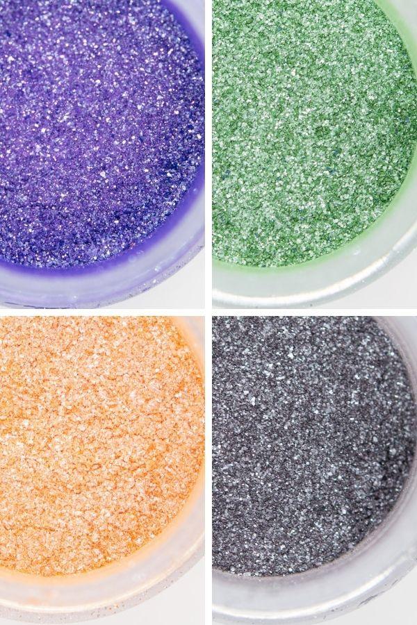 Halloween Edible Glitter Set | Halloween Luxe Edible Glitter for Drinks & Cakes