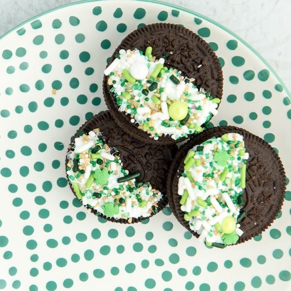 St. Patrick's Day Cookies - Lucky Charm Sprinkle Cookies