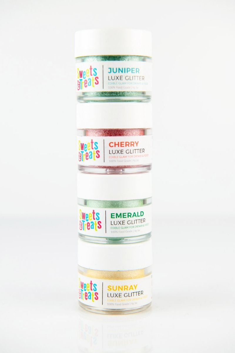 Cinco de Mayo Edible Glitter Set| Taco Luxe Edible Glitter for Drinks & Cakes