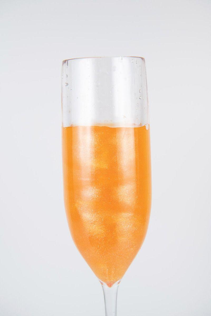 Orange Edible Glitter | Tangerine Luxe Edible Glitter for Drinks & Cakes