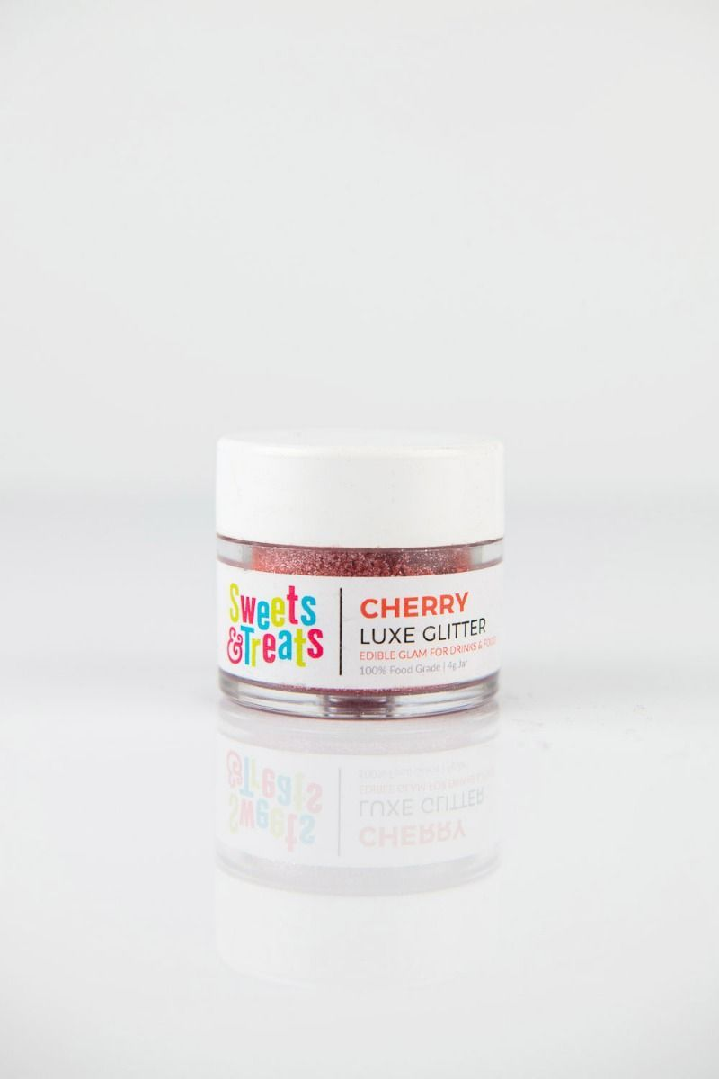 Red Edible Glitter | Cherry Luxe Edible Glitter for Drinks & Cakes
