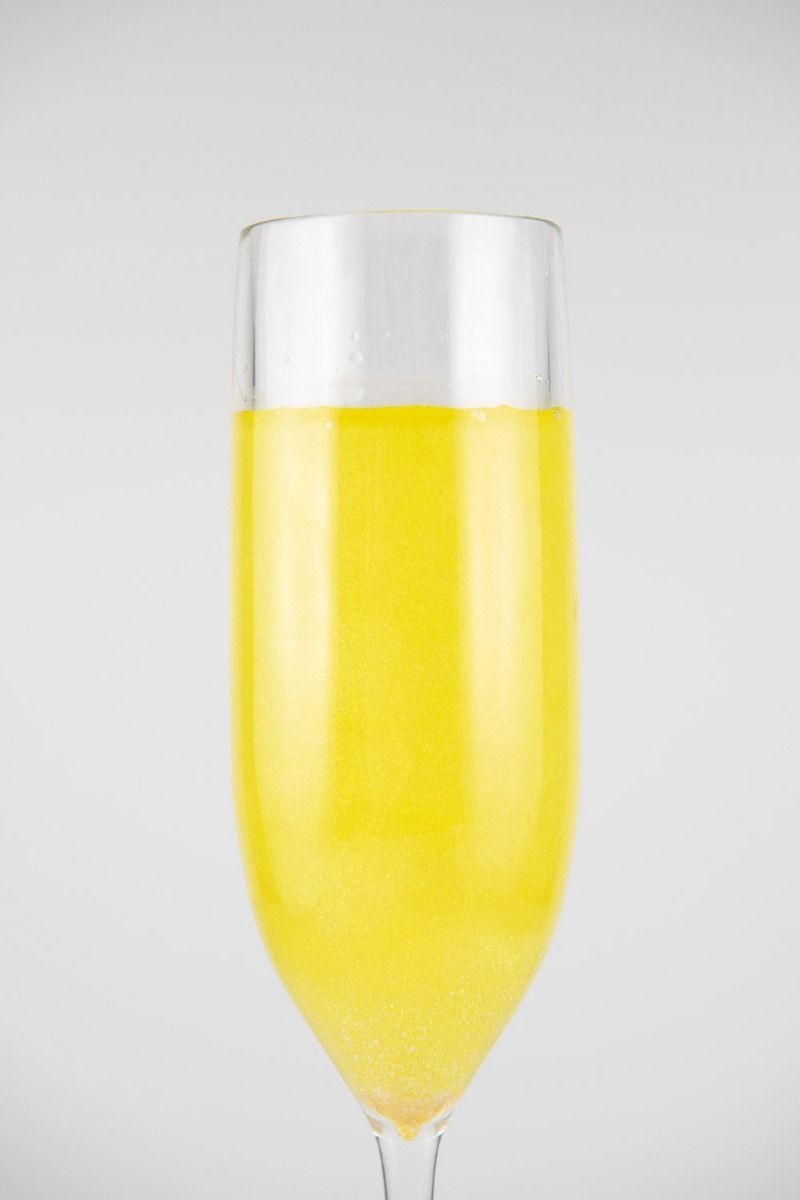 Yellow Edible Glitter | Sunray Luxe Edible Glitter for Drinks & Cakes