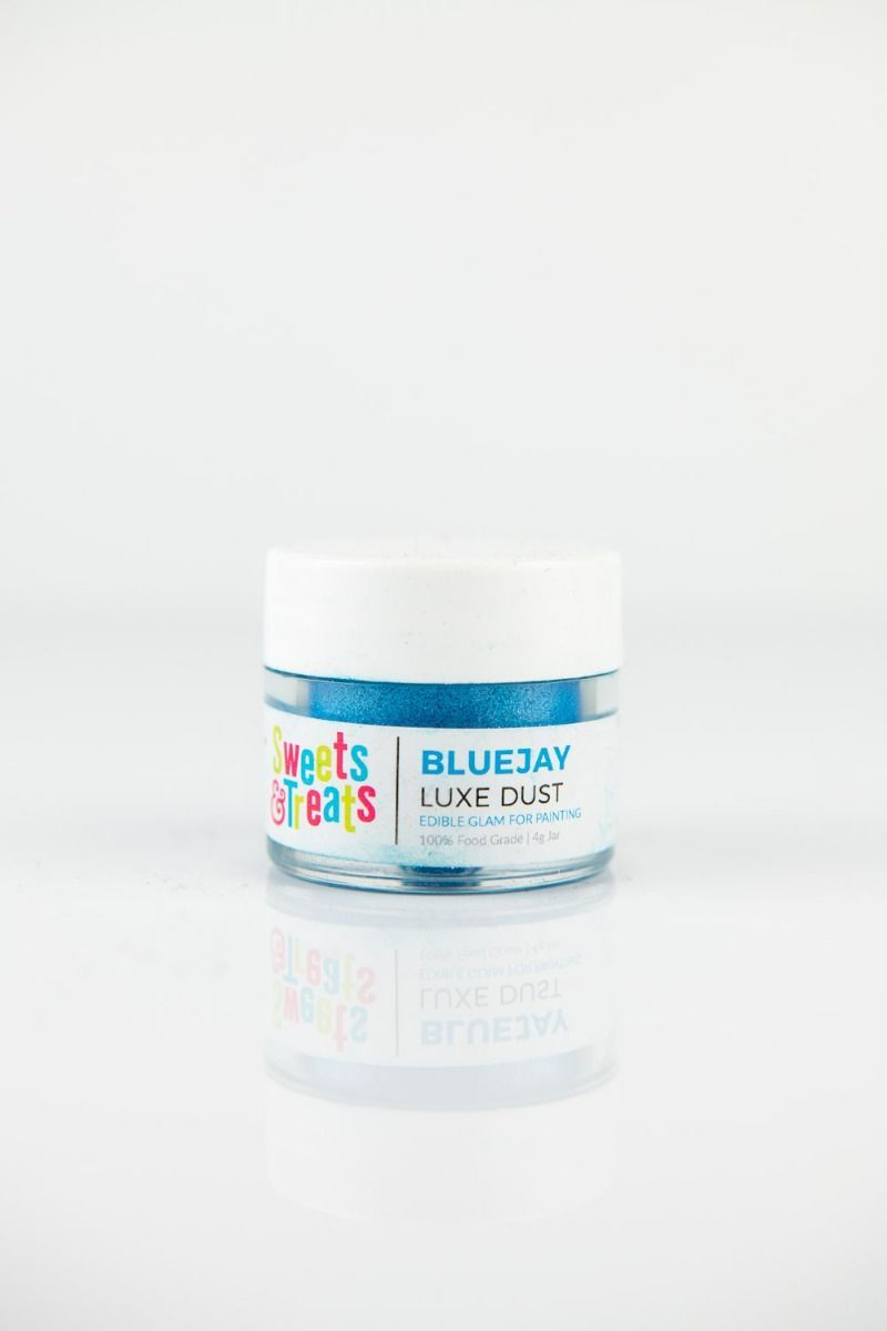 Blue Luster Dust   Bluejay Luxe Edible Luster Dust for Cakes, Cookies
