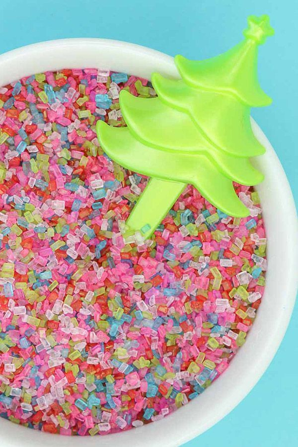 Modern Christmas Sugar Sprinkles Mix   Merry & Modern Sugar Sprinkle Blend
