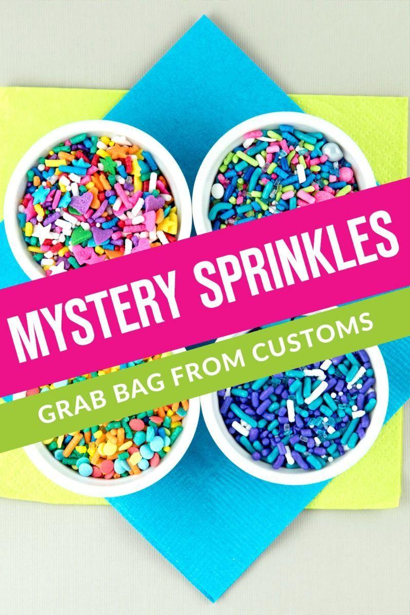 Mystery Sprinkles Grab Bag | Discount Sprinkle Mixes, Edible Medley