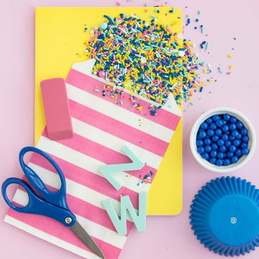 Solid Blue Cupcake Liners- Blue Baking Cups- Solid Color Cupcake Cups
