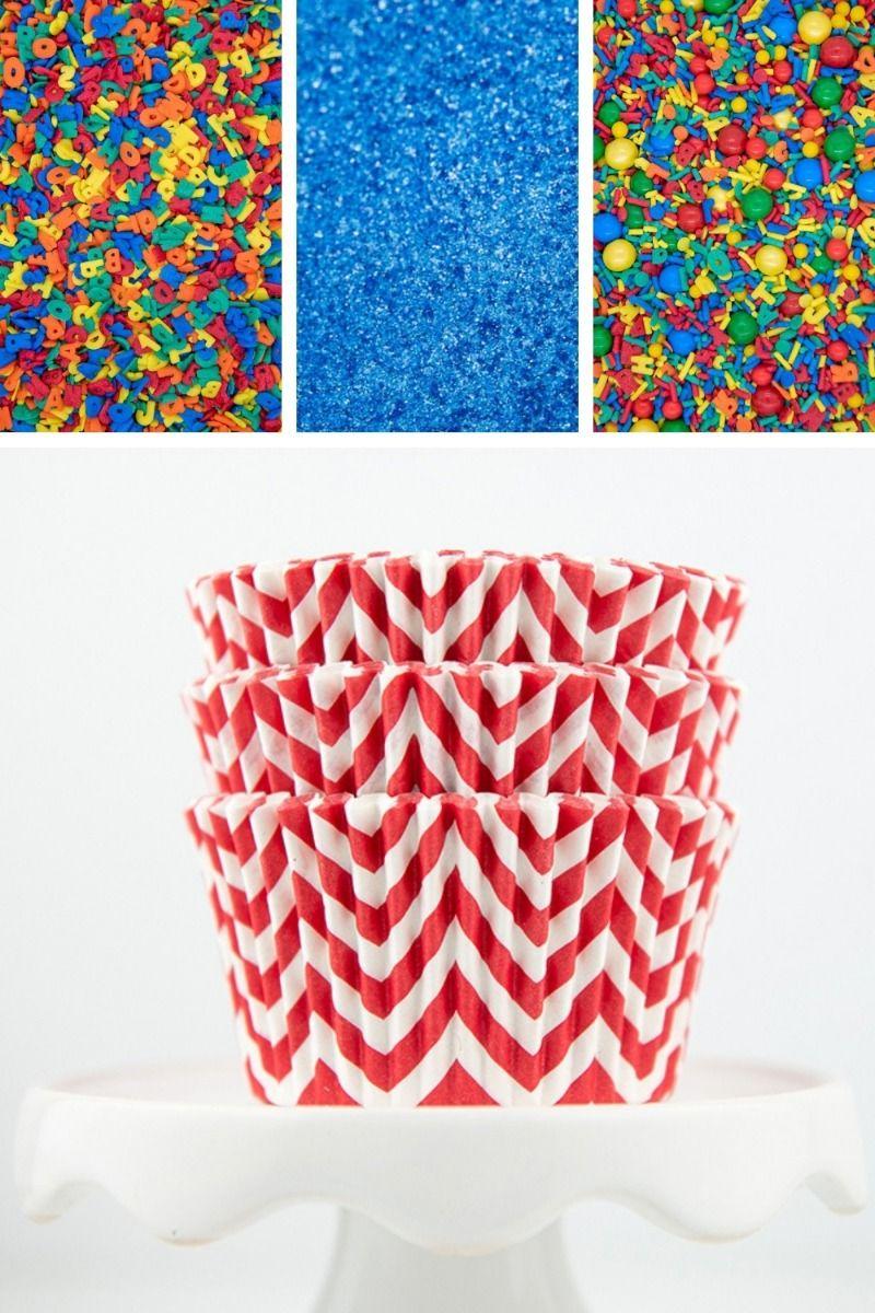Back To School Cupcake Decorating Kit, DIY Cupcake Kit