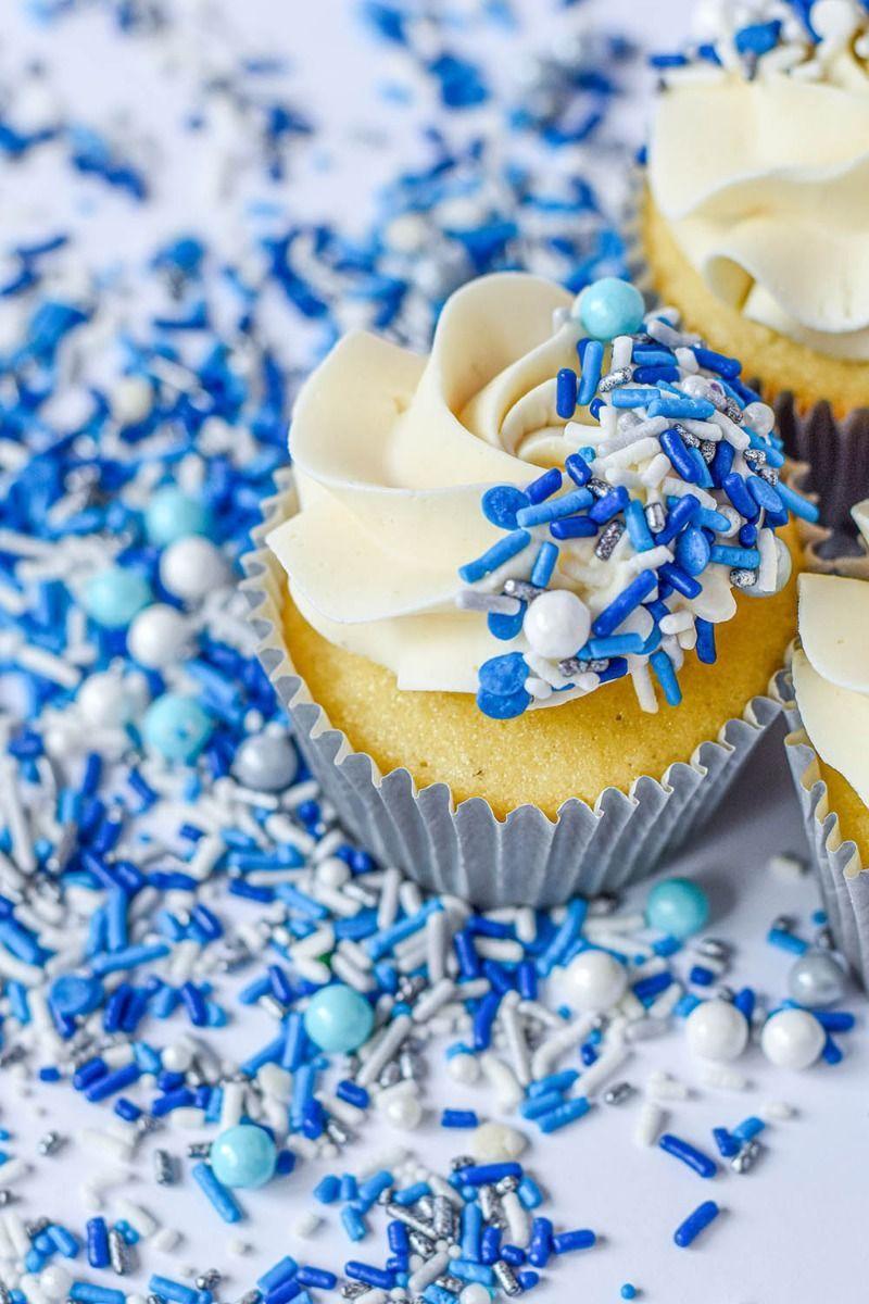 Blue Princess Sprinkles Mix | Edible Sprinkle Medley for Cinderella Party