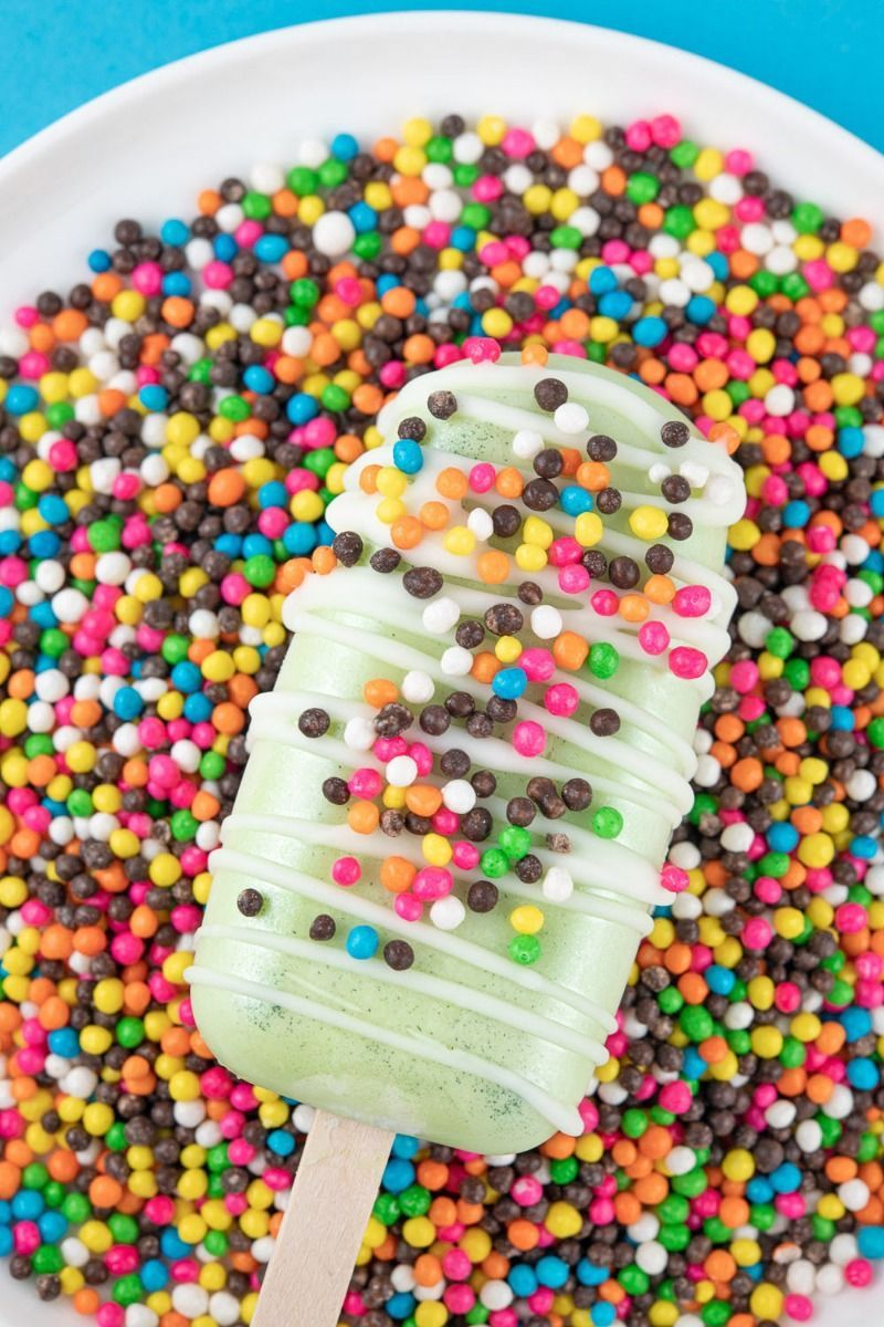 Popsicle Cakesicle Mold | Ice Cream Cake Pop Popsicle Mold