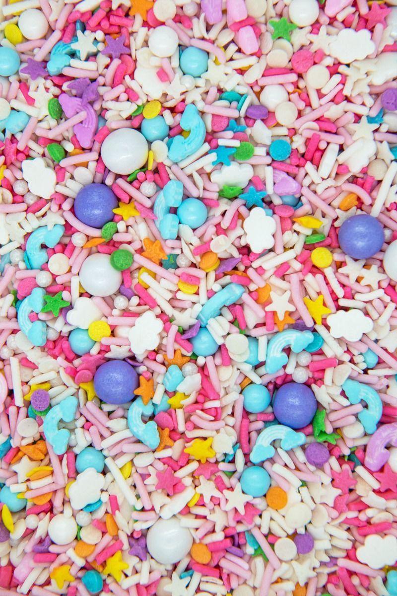 Sweet Dreams Sprinkles Mix   Pastel Pajama Sprinkle Medley, Edible Blend