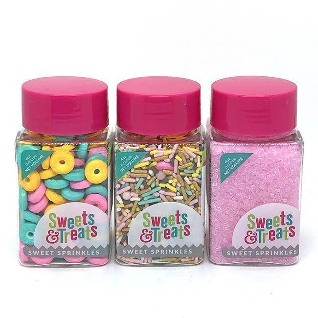 Donut Sprinkles Set - Doughnut Party Sprinkles