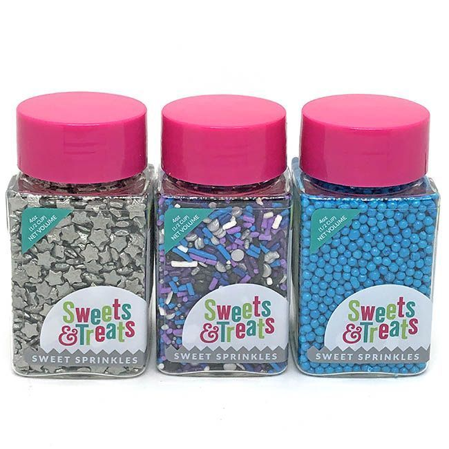 Galaxy Sprinkles Set - Outer Space Party Sprinkles