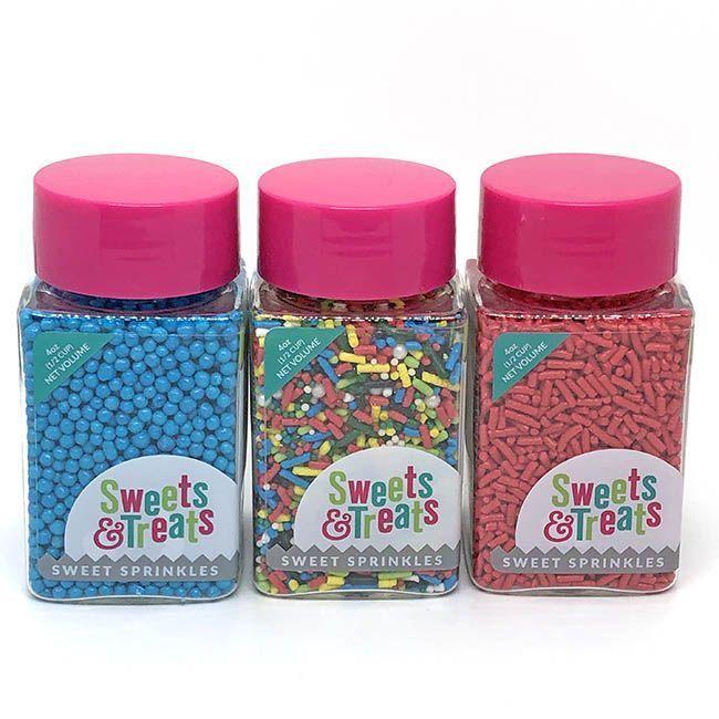 Superhero Sprinkles Set - Comic Book Party Sprinkles Pack