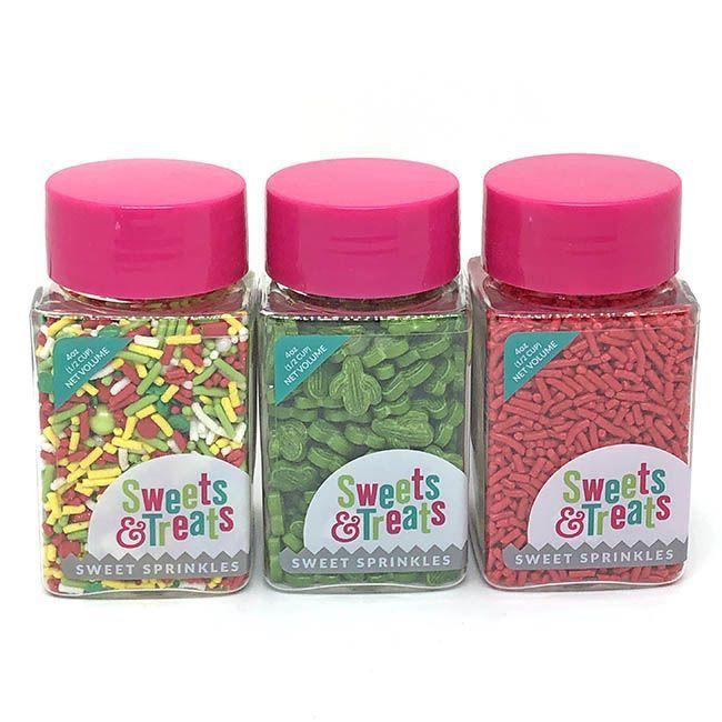 Taco Sprinkles Set - Fiesta Party Sprinkles Pack