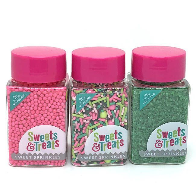 Watermelon Sprinkles Set - One in a Melon Party Sprinkle Pack