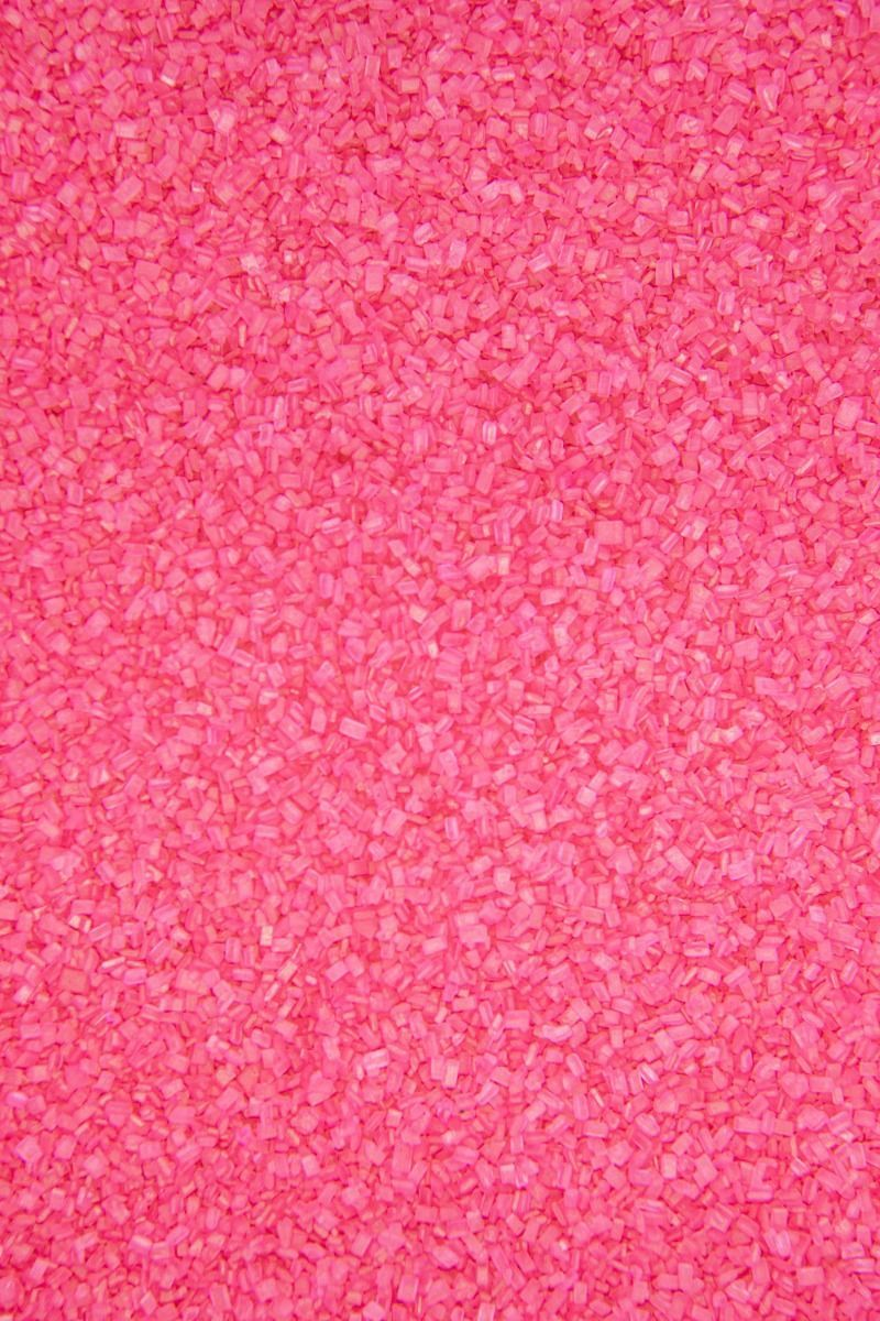 Pink Sugar Crystals Sprinkles | Pink Chunky, Sparkling Sugars