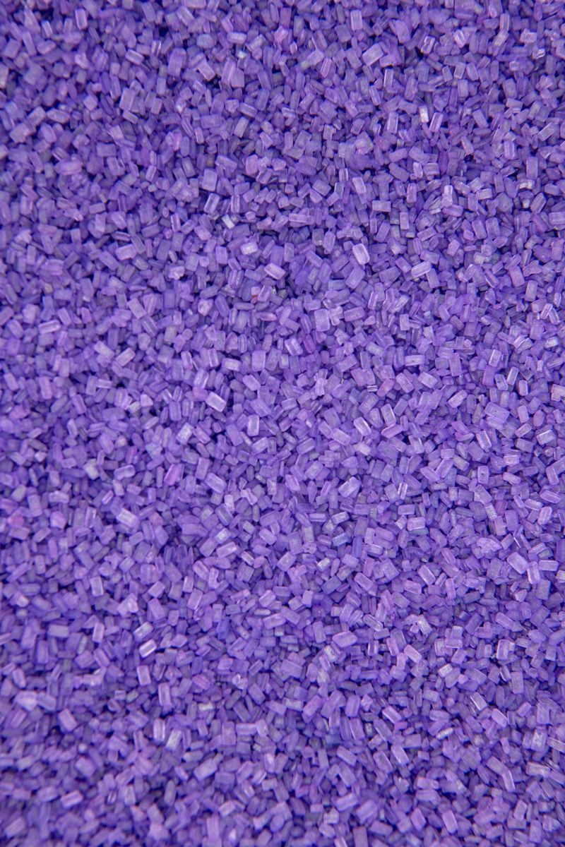 Purple Sugar Crystals Sprinkles | Purple Chunky, Sparkling Sugars