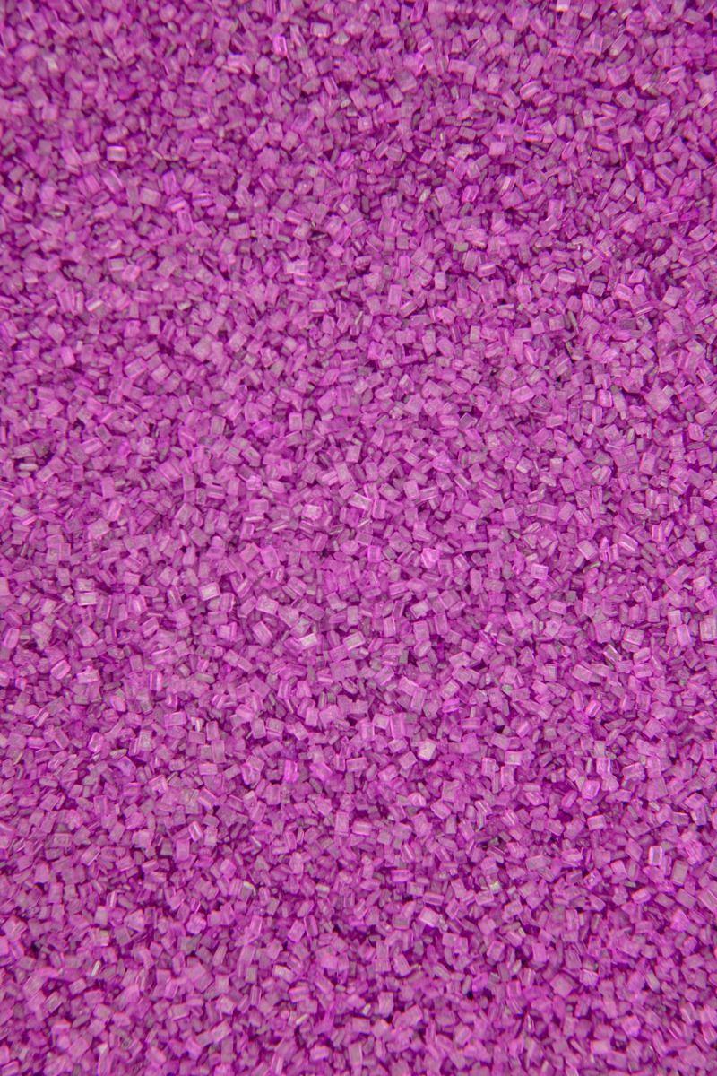 Raspberry Sugar Crystals | Fuchsia Chunky Sugar Sprinkles, Edible Blend