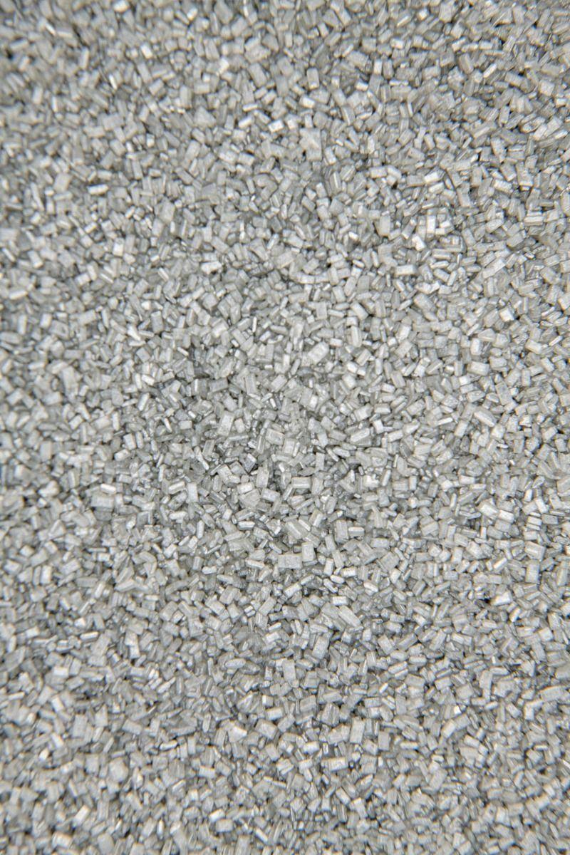 Silver Sugar Crystals | Silver Chunky Sugar Sprinkles, Edible Blend