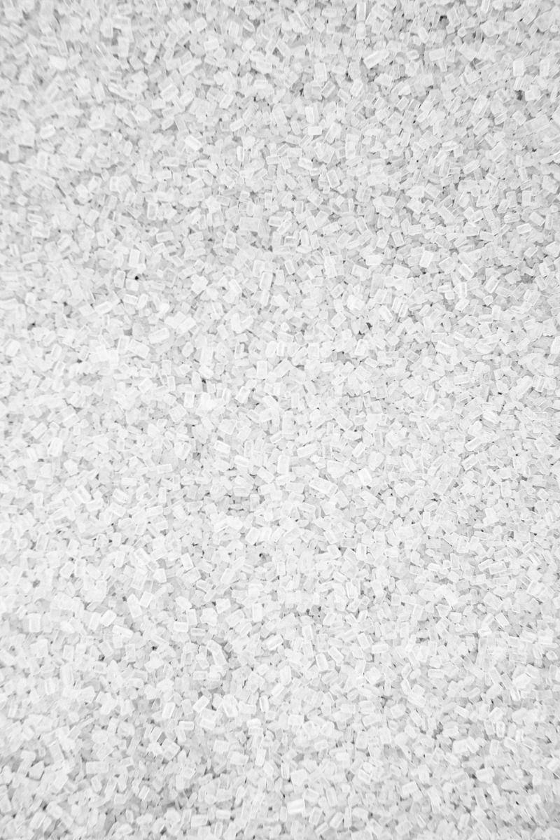 White Sugar Crystals Sprinkles | White Chunky Sugar Sprinkles, Edible Blend