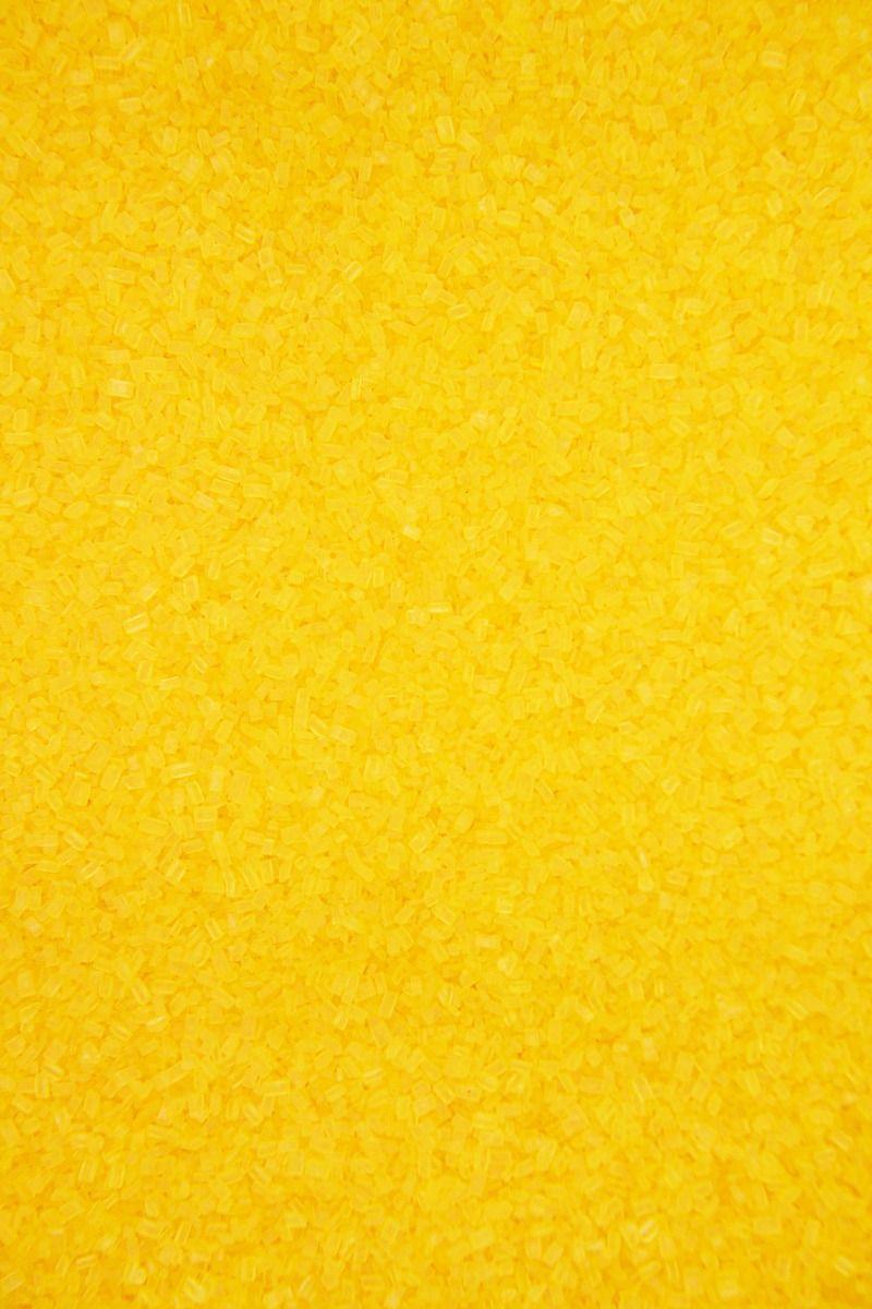 Yellow Sugar Crystals Sprinkles   Yellow Chunky Sugar Sprinkles, Edible Blend