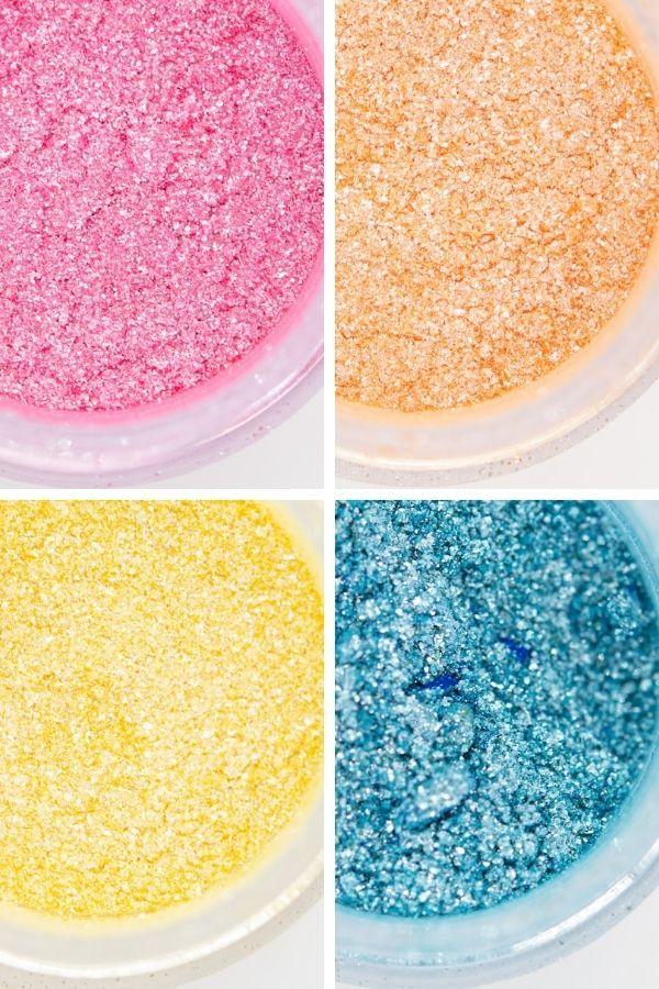 Summer Edible Glitter Set| Beach Luxe Edible Glitter for Drinks & Cakes