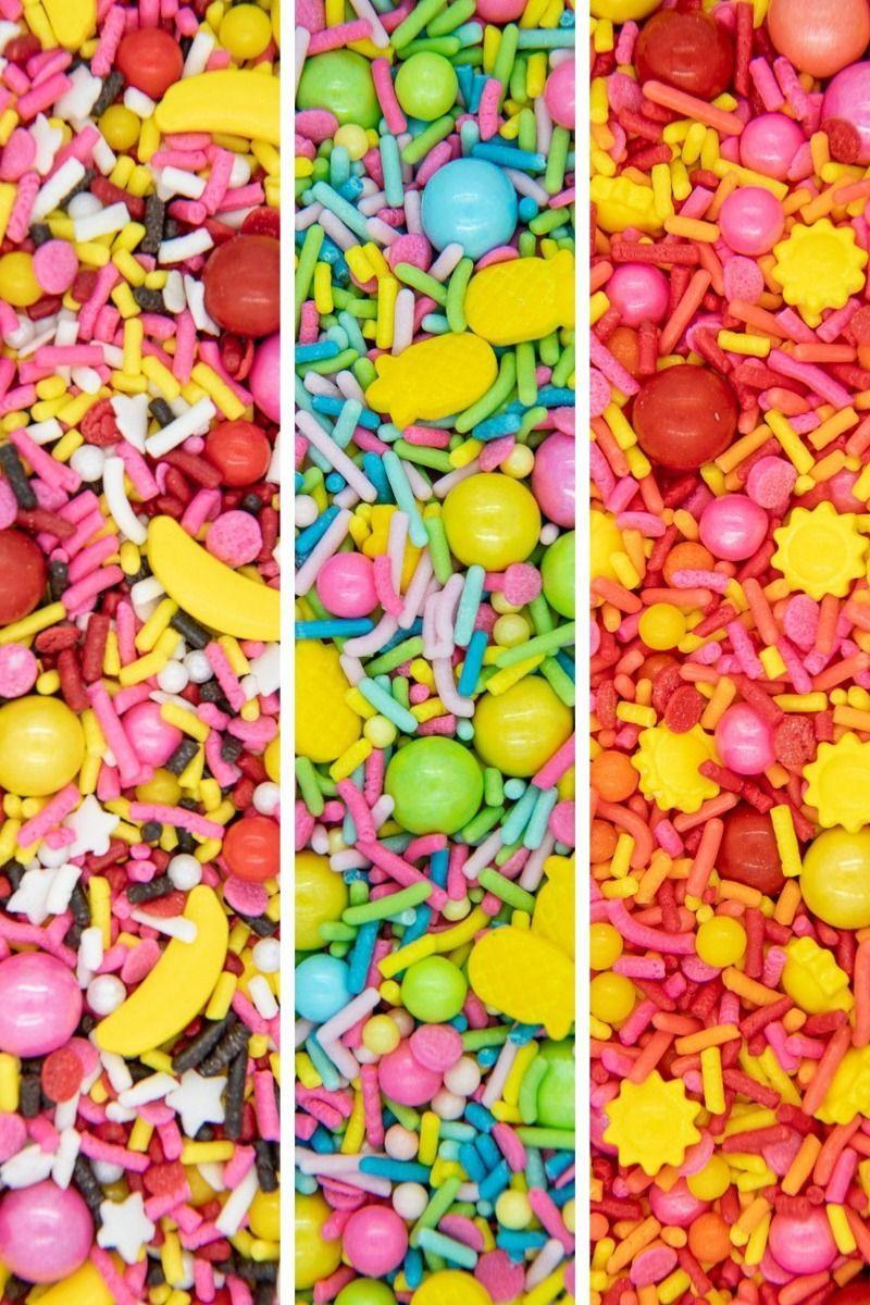 Summer Remix Sprinkles Set | Remix Summer Sprinkle Medley Set, Edible Blends