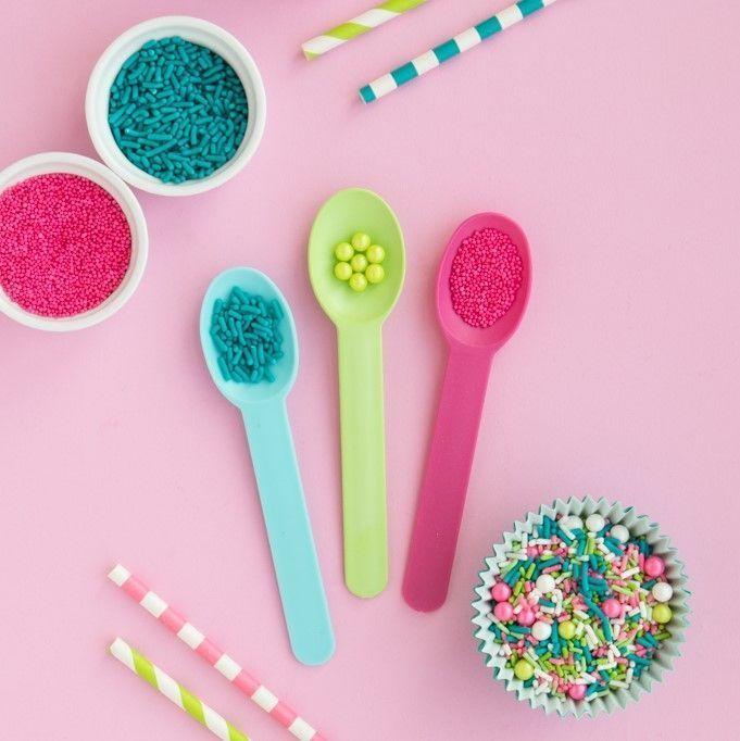 Teal Jimmies Sprinkles- Teal Sprinkles