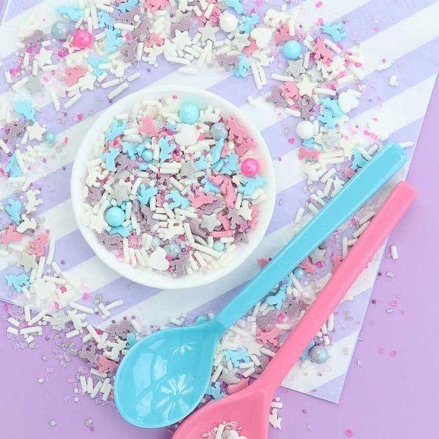 Unicorn Sprinkles - Unicorn Party Sprinkles - Fairy Tails Unicorn Sprinkles Mix