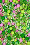 Cactus Party Sprinkles Mix | Desert Rose Sprinkle Medley, Edible Blend
