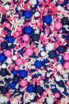 Pink & Navy Nautical Sprinkles Mix   Sail Away Sprinkle Medley, Edible Blend
